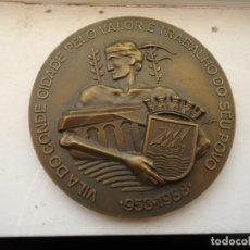 Trofeos y medallas: MEDALLA DE BRONCE CONMEMORATIVA. Lote 140000770