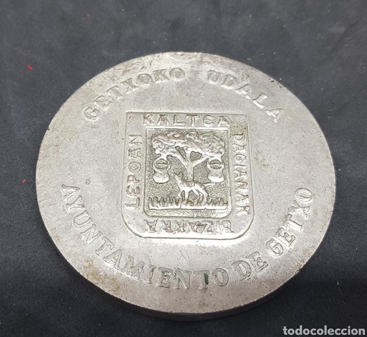 Trofeos y medallas: medalla - ayuntamiento de getxo - car126 - Foto 2 - 140047406