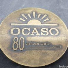 Trofeos y medallas: MEDALLA - OCASO - 80 ANIVERSARIO - CAR126. Lote 140047458