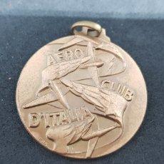 Trofeos y medallas: MEDALLA - AERO CLUB ITALIA - CAR126. Lote 140047690