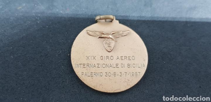 Trofeos y medallas: medalla - aero club italia - car126 - Foto 2 - 140047690