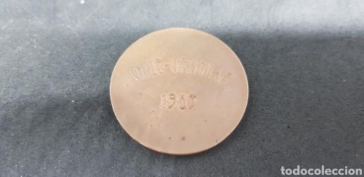 MEDALLA - CHILE URUGUAY - 1903 - CAR126 (Numismática - Medallería - Trofeos y Conmemorativas)