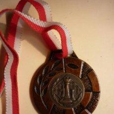 Trofeos y medallas: MEDALLA CAMPEON Tº 1ª AJEDREZ CANTABRIA 1996. Lote 140302550