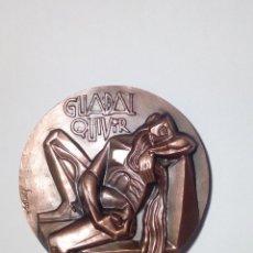 Trofeos y medallas: MEDALLA 1966 GUADALQUIVIR SERIE RÍOS DE ESPAÑA SOMOZA FNMT. Lote 140770458