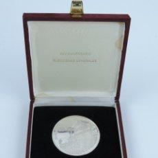 Trofeos y medallas: MEDALLA CONMEMORATIVA REALIZADA EN PLANTA DEL XXV ANIVERSARIO DE LAS ELECCIONES GENERALES, EN SU EST. Lote 141273198