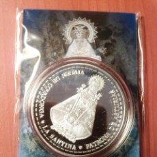 Trofeos y medallas: MEDALLA VIRGEN DE COVADONGA (DIAMETRO 4 CMS.). Lote 141487954