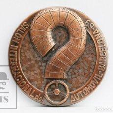 Trofeos y medallas: MEDALLA CONMEMORATIVA - SALÓN INTERNACIONAL DEL AUTOMÓVIL, BARCELONA, 1969 / 69 - DIÁMETRO 5 CM. Lote 142171582