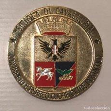 Trofeos y medallas: MEDALLA CONMEMORATIVA SCUOLA DI CAVALLERIA - 1706. Lote 142314742