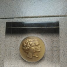 Trofeos y medallas: MEDALLA JUAN CARLOS PRINCIPE DE ASTURIAS Y SOFÍA PRINCESA DE GRECIA. Lote 143885952