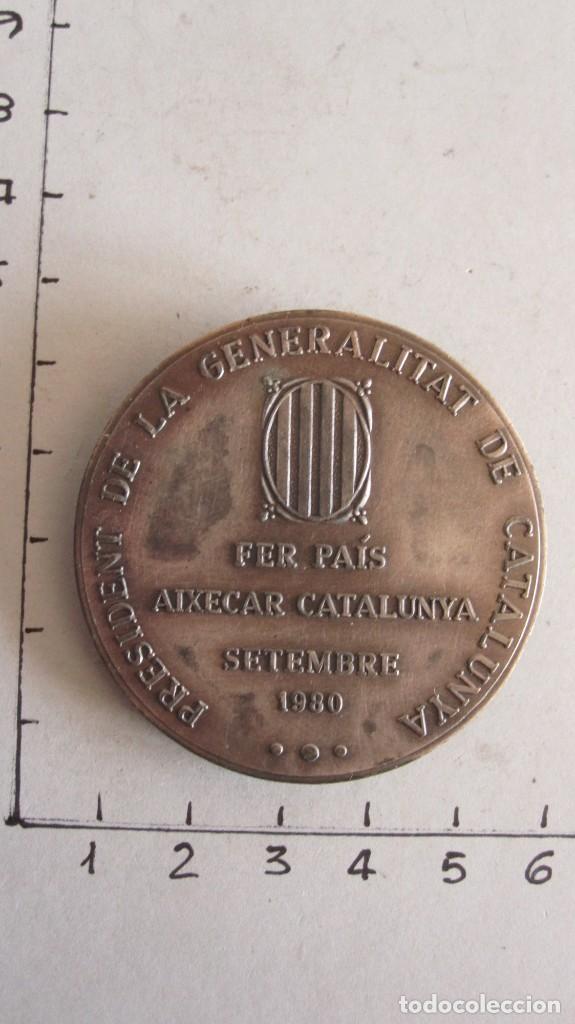 Trofeos y medallas: MEDALLA JORDI PUJOL I SOLEY - PRESIDENT DE LA GENERALITAT - SETEMBRE 1980 - Foto 2 - 144003466