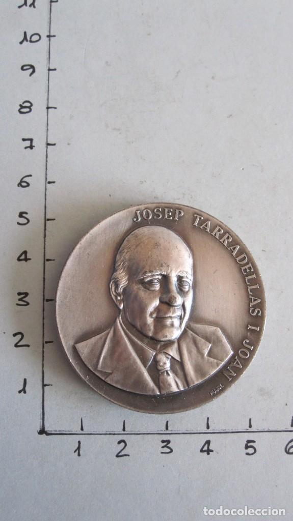 MEDALLA JOSEP TARRADELLAS I JOAN - PRESIDENT DE LA GENERALITAT RESTAURADA 23-X-1977 (Numismática - Medallería - Trofeos y Conmemorativas)