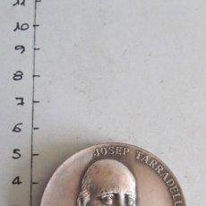 Trofeos y medallas: MEDALLA JOSEP TARRADELLAS I JOAN - PRESIDENT DE LA GENERALITAT RESTAURADA 23-X-1977. Lote 144003574