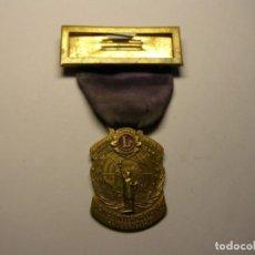 Trofeos y medallas: MEDALLA CONVENCIÓN INTERNACIONAL LIONS CLUB, NEW YORK, AÑO 1948.. Lote 144282534