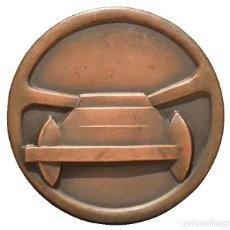 Trofeos y medallas: MEDALLA EN BRONCE SECTOR AUTOMOVIL 1966 FERIA INTERNACIONAL DE MUESTRAS DE BARCELONA. Lote 144338470