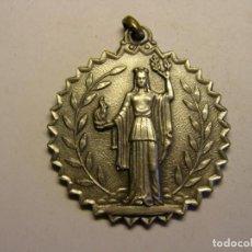 Trofeos y medallas: MEDALLA Iª SEMANA DEPORTIVA, DISTRITO IX, AÑO 1966. . Lote 144484222