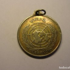 Trofei e Medaglie: MEDALLA UNIFIL , LIBANO. NACIONES UNIDAS, ONU.. Lote 145045042