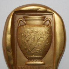 Trofeos y medallas: MEDALLA OLIMPIADAS BARCELONA. VERANO 1992. GRECIA S. VIII A.C. - X.IF. CALICÓ. Lote 148303574