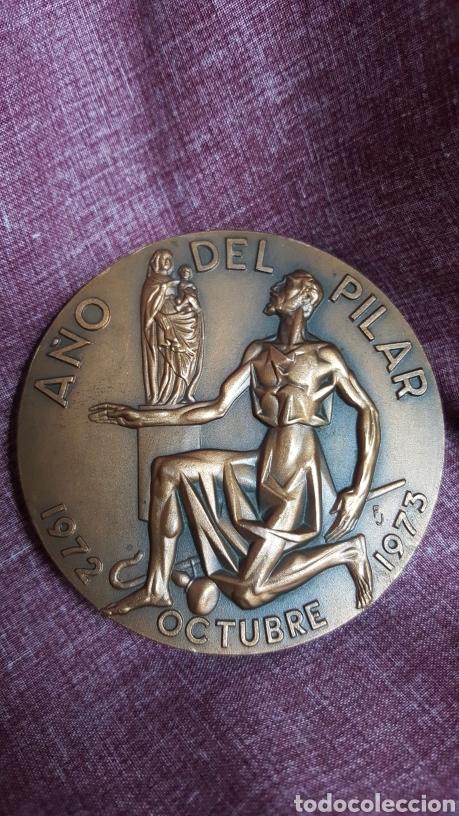 Trofeos y medallas: MEDALLA DEL CENTENARIO DE LA CONSAGRACIÓN DE LA BASÍLICA DEL PILAR - Foto 2 - 148345800