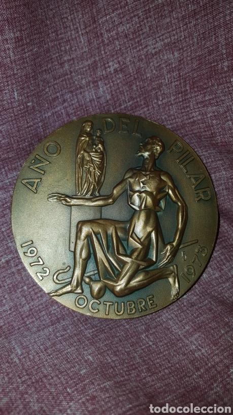Trofeos y medallas: MEDALLA DEL CENTENARIO DE LA CONSAGRACIÓN DE LA BASÍLICA DEL PILAR - Foto 4 - 148345800