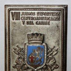 Trofeos y medallas: PLACA O MEDALLA DE LOS VIII JUEGOS DEPORTIVOS CENTROAMERICANOS Y CARIBE. CARACAS - VENEZUELA. 1958. Lote 148758470