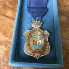 Trofeos y medallas: MEDALLA DE PLATA DEL COLEGIO DE ABOGADOS DE LAS PALMAS, ÉPOCA DE FRANCO. Lote 148809238