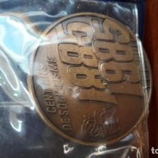 Trofeos y medallas: MONEDA CONMEMORATIVA P.S.O.E.. Lote 148572782