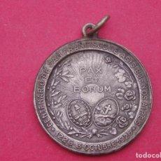 Trofeos y medallas: MEDALLA CENTENARIO SAN FRANCISCO DE ASIS. 1926 BUENOS AIRES. ARGENTINA.. Lote 150680462