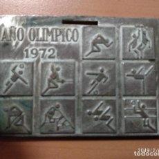 Trofeos y medallas: MEDALLA II JUEGOS NACIONALES DE DEPORTES PARA MINUSVALIDOS, MADRID 1972, AÑO OLIMPICO. Lote 150851234