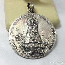 Trofeos y medallas: MEDALLA DE PLATA - 75 ANIVERSARIO CORONACIÓN VIRGEN DE LOS DESAMPARADOS - MEDIDA 4 CM - PESO 36 GR.. Lote 151278470