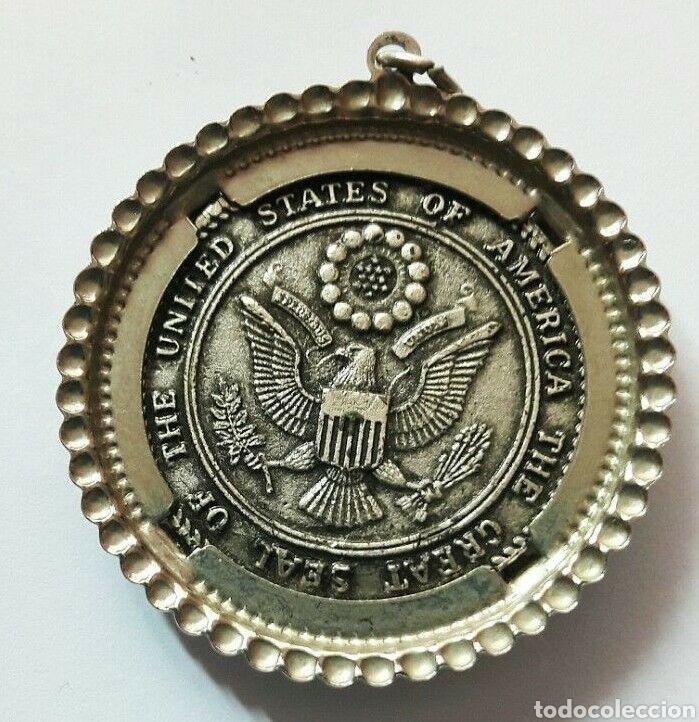 Trofeos y medallas: Medallón, medalla del Bicentenario de la Campana de la Libertad 1776- 1976 Liberty Bell Medalla - Foto 2 - 152053929