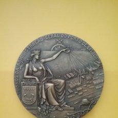 Trofeos y medallas: MEDALLA 75 AÑOS DA ADMINISTRAÇAO GERAL DO PORTO DE LISBOA 1907-1982. CABRAL ANTUNES.. Lote 152316978