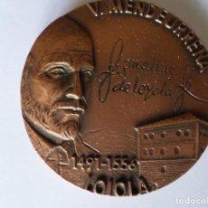Trofeos y medallas: MEDALLA CONMEMORATIVA FILATELICA TOLOSA 1991. Lote 153832038
