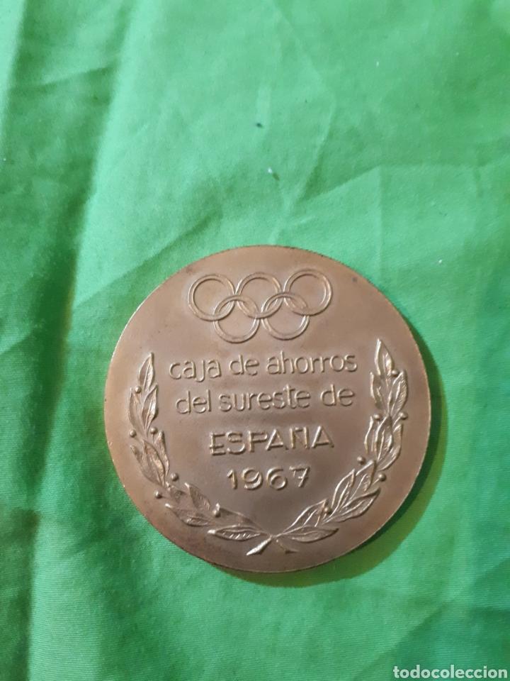 Trofeos y medallas: Única en todocoleccion MONEDA MEDALLA CONMEMORATIVA IX JUEGOS DEL SURESTE ALICANTE 1967 - Foto 2 - 154516793