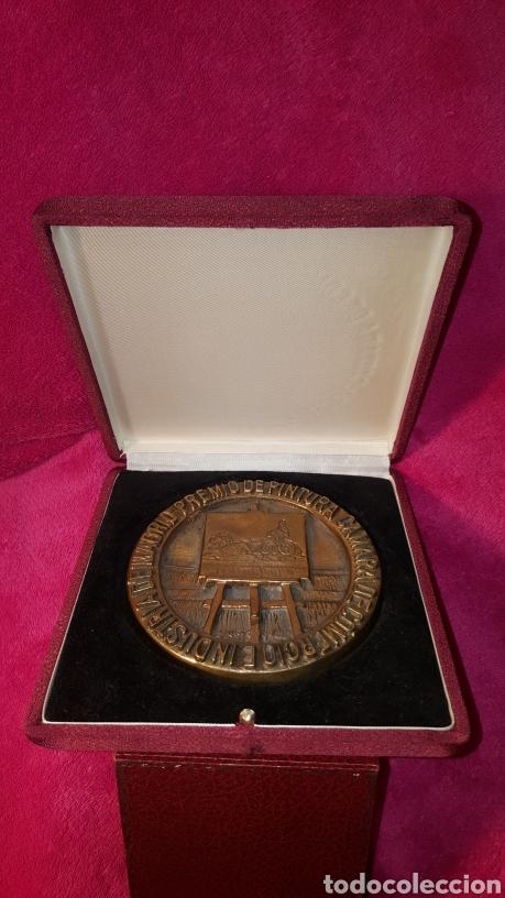 PRIMER PREMIO DE PINTURA. ANTONIO ZARCO. 1981 (Numismática - Medallería - Trofeos y Conmemorativas)