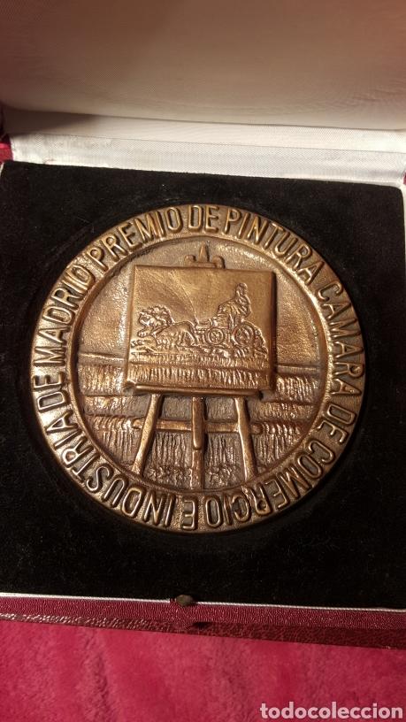 Trofeos y medallas: PRIMER PREMIO DE PINTURA. ANTONIO ZARCO. 1981 - Foto 2 - 156538830