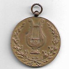 Trofeos y medallas: MEDALLA DE MUSICA.RECORT D´EN JOSEP CASTELL-MOLLET 1923. Lote 156745878
