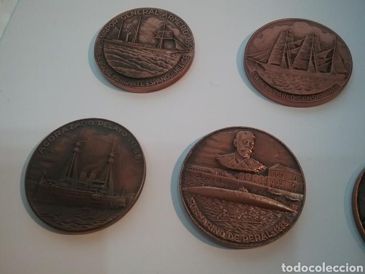 Trofeos y medallas: Lote de 7 medallas de Salón Náutico Barcelona - Foto 4 - 159533954