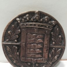 Trofeos y medallas: MEDALLA CONMEMORATIVA PLAZA DE TOROS DE VALLADOLID 1880-1890. Lote 161346030
