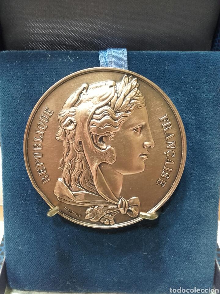 MEDALLA SENAT REPUBLIQUE FRANCAISE (Numismática - Medallería - Trofeos y Conmemorativas)