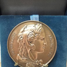 Trofeos y medallas: MEDALLA SENAT REPUBLIQUE FRANCAISE. Lote 161350682