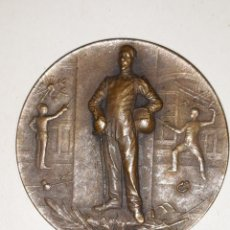 Trofeos y medallas: MEDALLA DEPORTIVA FRANCESA DE ESGRIMA.INSCRIPCION CERCLE HOCHE. Lote 161655970