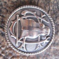 Trofeos y medallas: MEDALLA CONMEMORATIVA 25 ANYS DE SOCI CLUB NAUTIC TARRAGONA 1878 CATEGORIA PLATA. Lote 161689794