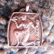 Trofeos y medallas: MEDALLA DE COBRE CONCURS MANILLA 1933. Lote 161833582