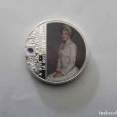 Trofeos y medallas: MONEDA CONMEMORATIVA LADY DIANA. Lote 161910962