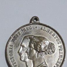 Trofeos y medallas: MEDALLA VICTORIA BRIT: REG ALBERTUS PRINCEPS 1855. Lote 163169050