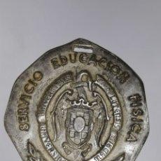 Trofeos y medallas: MEDALLA SERVICIO EDUCACION FISICA U.COMPLUTENSE DE MADRID.PROFESORADO RECUERDO CURSO 1968-69. Lote 163799208