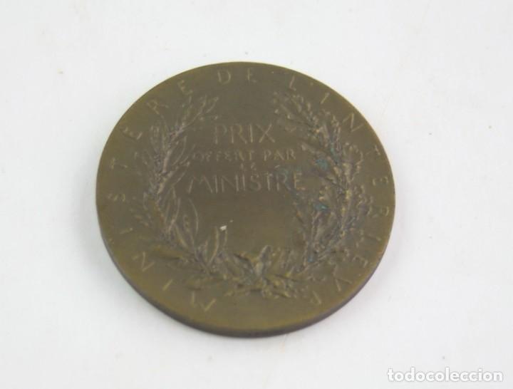 Trofeos y medallas: Medalla francesa con grabado de Louis Oscar Roty, Republique française, ministere de l'interieur. - Foto 4 - 163831374