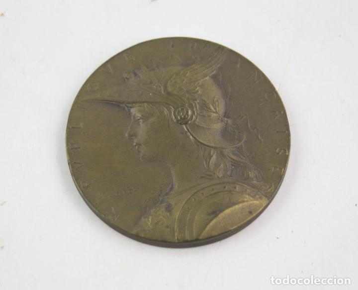 Trofeos y medallas: Medalla francesa con grabado de Louis Oscar Roty, Republique française, ministere de l'interieur. - Foto 3 - 163831374