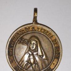 Trofeos y medallas: MEDALLA CENTENARIO SANTA TERESA DE JESUS OCT 1882 AÑO MDLIX. Lote 163885657