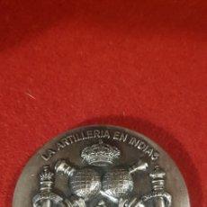 Trofeos y medallas: COMISIÓN DE ARTILLERÍA PARA EL V CENTENARIO DEL DESCUBRIMIENTO DE AMERICA:. Lote 165119922